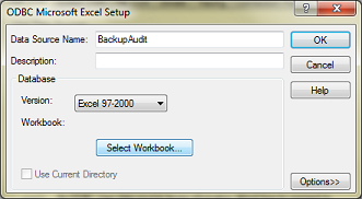 Configuring an Excel ODBC Data Source in Windows 7 » Cyberfella Ltd